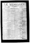 Le Messager, V9 N43, (01/17/1889)
