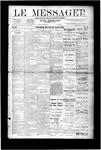 Le Messager, V9 N44, (01/24/1889)