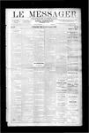 Le Messager, V9 N45, (01/31/1889)