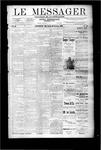 Le Messager, V9 N49, (02/29/1889)