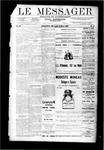 Le Messager, V9 N51, (03/14/1889)