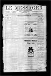 Le Messager, V10 N01, (03/29/1889)