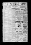 Le Messager, V10 N05, (04/25/1889)