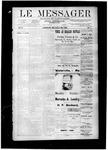 Le Messager, V10 N07, (05/09/1889)