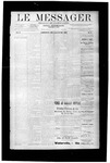 Le Messager, V10 N09, (05/23/1889)