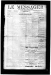 Le Messager, V10 N10, (05/30/1889)