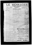 Le Messager, V10 N12, (06/13/1889)