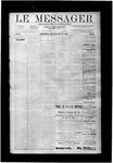Le Messager, V10 N13, (06/20/1889)