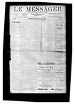 Le Messager, V10 N14, (06/27/1889)