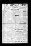 Le Messager, V10 N16, (07/11/1889)