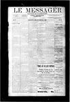 Le Messager, V10 N18, (07/25/1889)
