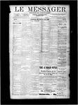 Le Messager, V10 N19, (08/01/1889)