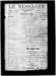 Le Messager, V10 N20, (08/08/1889)