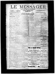 Le Messager, V10 N21, (08/15/1889)