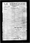 Le Messager, V10 N22, (08/22/1889)