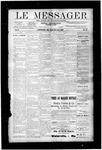 Le Messager, V10 N23, (08/29/1889)