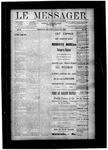 Le Messager, V10 N24, (09/05/1889)