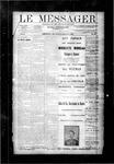 Le Messager, V10 N25, (09/12/1889)