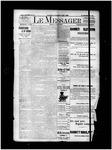 Le Messager, 15e N10, (05/04/1894)