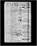 Le Messager, 15e N18, (06/01/1894)