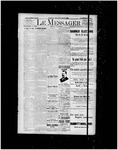 Le Messager, 15e N34, (07/31/1894)
