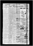 Le Messager, 15e N52, (10/02/1894)