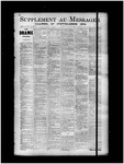 Le Messager, Supplement, (11/27/1894) by Le Messager