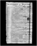 Le Messager, Supplement, (12/07/1894) by Le Messager