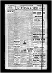 Le Messager, 15e N78, (12/28/1894) by Le Messager