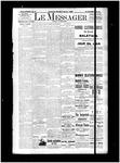 Le Messager, 15e N81, (01/08/1895)