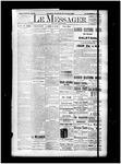 Le Messager, 15e N84, (01/18/1895)