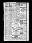 Le Messager, 15e N86, (01/25/1895)