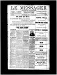 Le Messager, V12 N56, (12/15/1891)