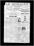 Le Messager, V12 N58, (12/22/1891)