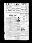Le Messager, V12 N59, (12/25/1891)
