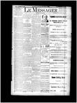 Le Messager, V12 N67, (01/22/1892)