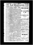 Le Messager, V12 N75, (02/19/1892)