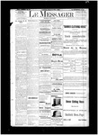 Le Messager, V13 N12, (05/17/1892)