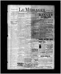 Le Messager, 17e N52, (09/11/1896)