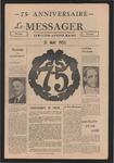 Le Messager, 75e Anniversaire, (05/21/1955)