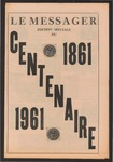 Le Messager Edition Speciale du Centenaire, 1861-1961 by Le Messager