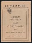 Le Messager, Edition Souvenir marquant le Centenaire de la Bates Manufacturing Co., (08/15/1950)
