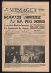 Le Messager, 72e N 301, (03/21/1953)