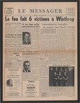 Le Messager, 81e N 2, (03/28/1960) by Le Messager