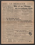Le Messager, 64e N 214, (11/09/1943)