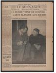 Le Messager, 61e N 260, (01/11/1941)