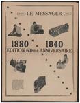 Le Messager, Edition 60éme Anniversaire 1880 - 1940, (03/30/1940)