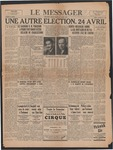 Le Messager, 59e N333, (04/11/1939)