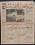 Le Messager, 58e N 194, (10/16/1937)