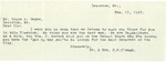 02/13/1947 Letter from Mr. and Mrs. H. H. Clough